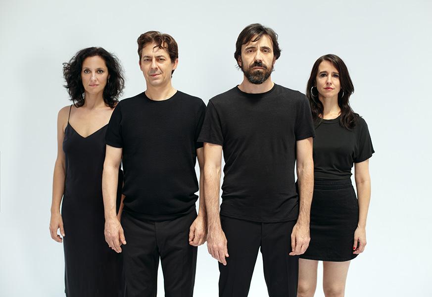 María Morales, Jesús Noguero, Israel Elejalde, Fernanda Orazi