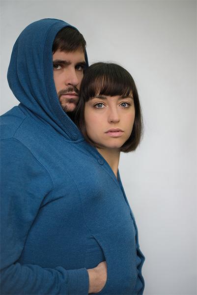 Andrea Trepart y Juan Trueba