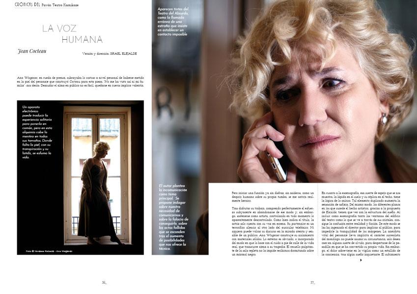 La voz humana Jean Cocteau