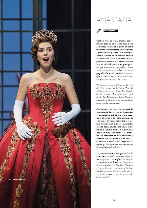 el musical Anastasia