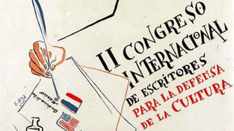 segundo congreso internacional de escritores para la defensa de la cultura
